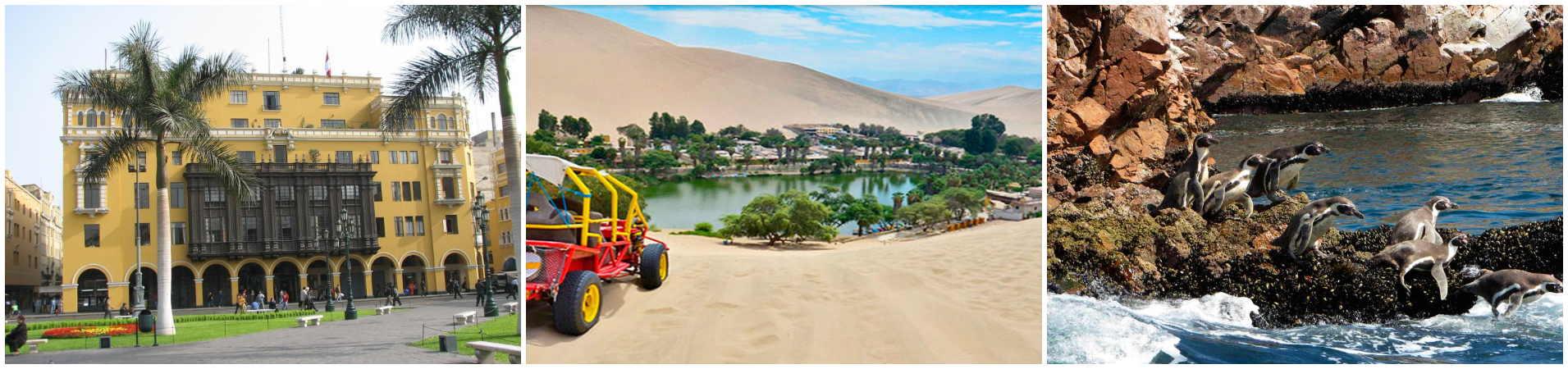 Viaje Lima Ica Paracas Cusco Machupicchu Puno Arequipa 15 dias