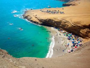 las playas raspon y la mina paracas inca travel agency qori inka