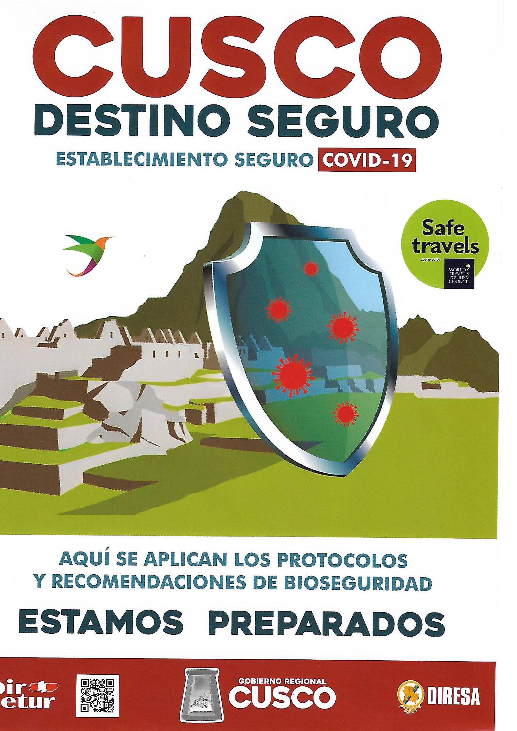 destino seguro dircetur inca travel
